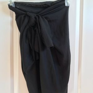 Sarong, black, H&M one size
